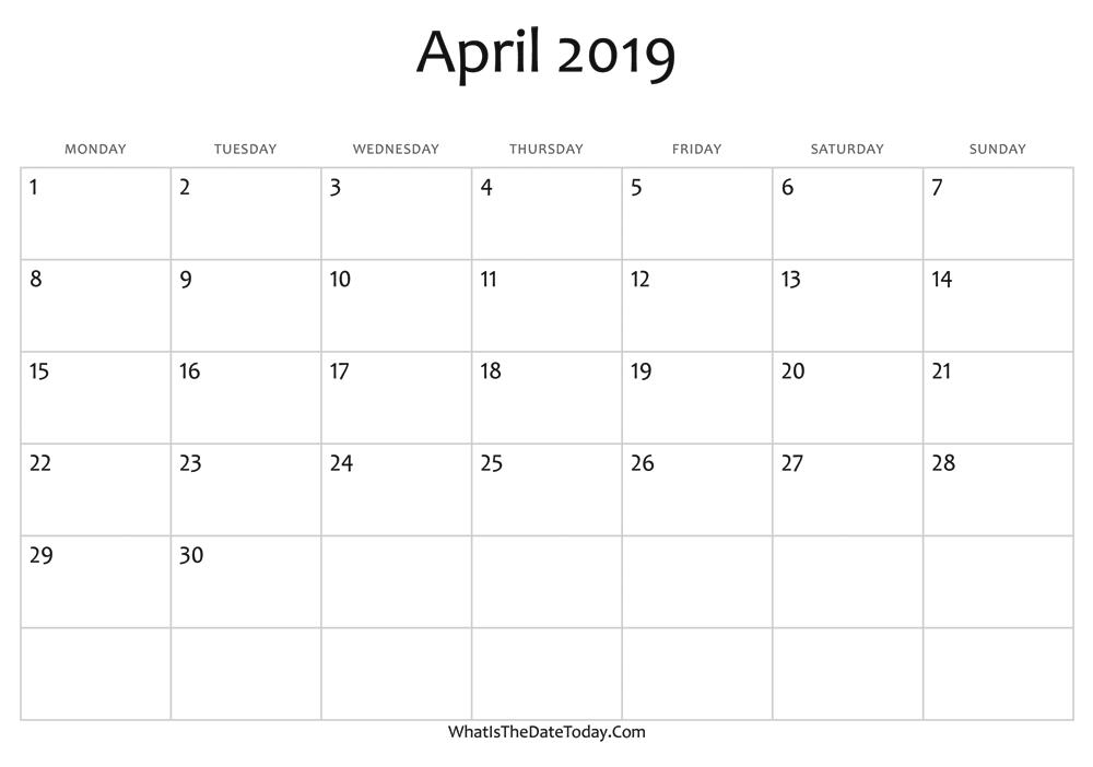 April 13 2019 events