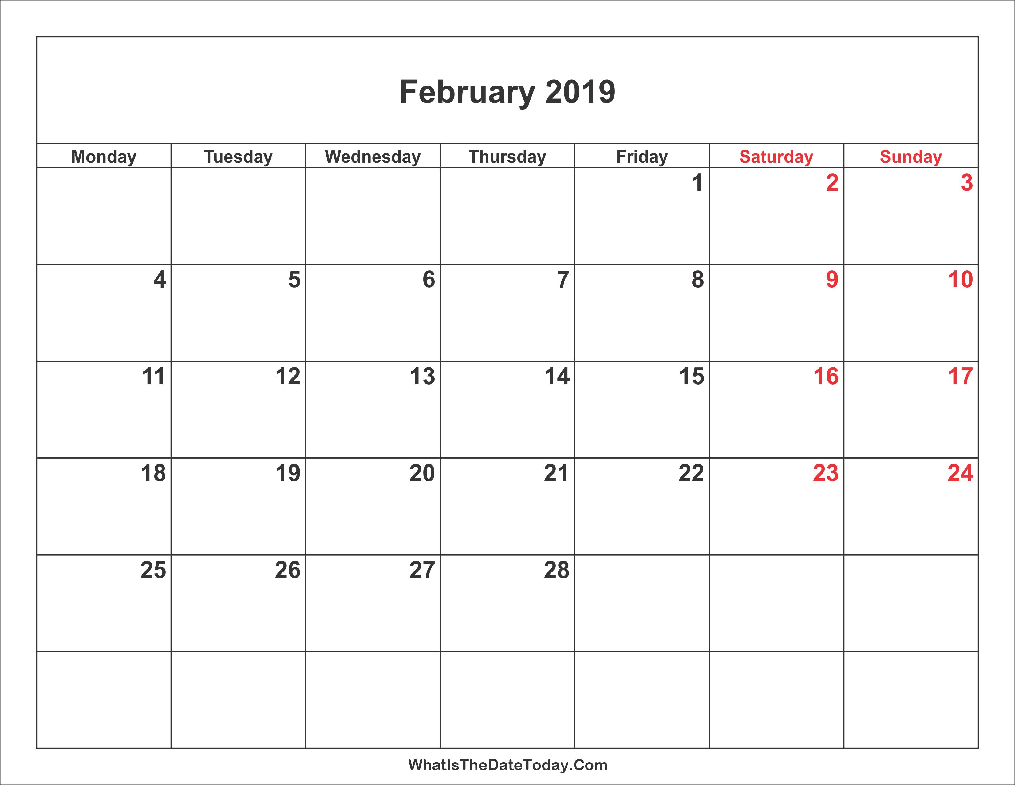 Weekend in February 2019 36
