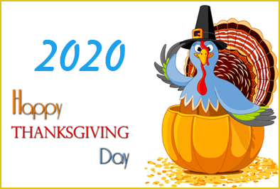 What is the date of thanksgiving 2020